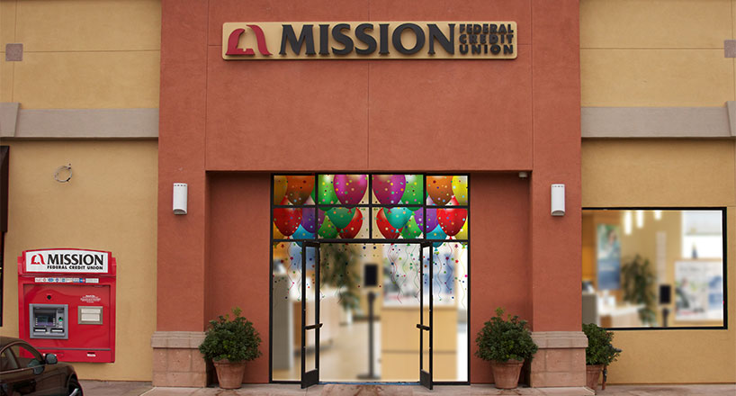 Photo of a Mission Fed branch celebration
