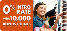 0% Intro Rate with 10,000 Basis Points