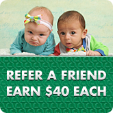 Refer A Friend, Earn $40 Each