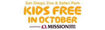 Zoo Kids Free in October 2016