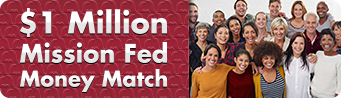 $1 Million Mission Fed Money Match