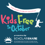 Kids Free in October banner