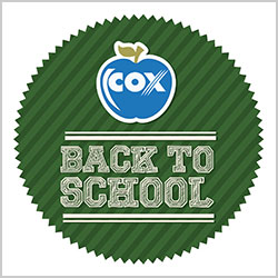 Cox Back to School logo