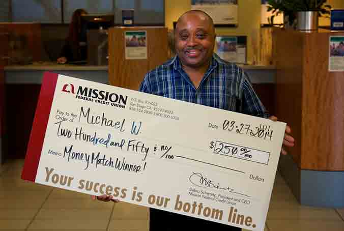 Michael W. won a Credit Card purchase match in February, and used the extra money on some repairs to keep his car running smoothly.