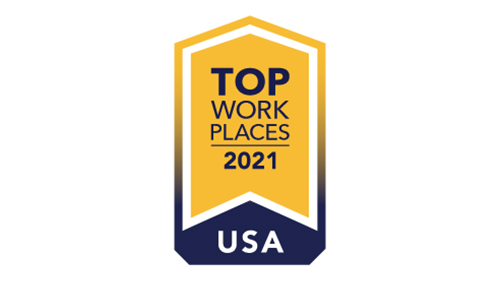 2021 Top Workplaces USA.