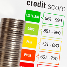 image of credit score ratings