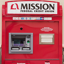 photo of a Mission Fed ATM