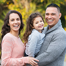 Photo of happy family who used a Mission Fed 30-Year Fixed Jumbo Home Loan.
