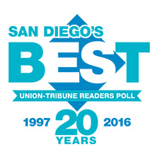 logo for San Diego's Best readers poll