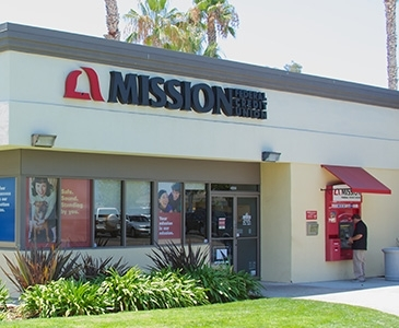 Bank with Mission Fed, Visit our Clairemont Credit Union