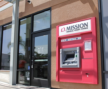 Bank with Mission Fed, Visit our Escondido Auto Park Way Credit Union