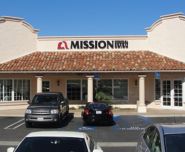 Bank with Mission Fed, Visit our Vista Credit Union