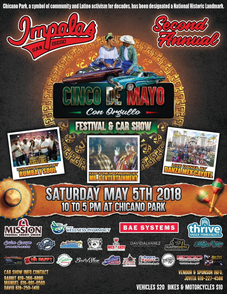 Cinco De Mayo Con Orgullo Festival And Car Show - San diego lowrider car show 2018