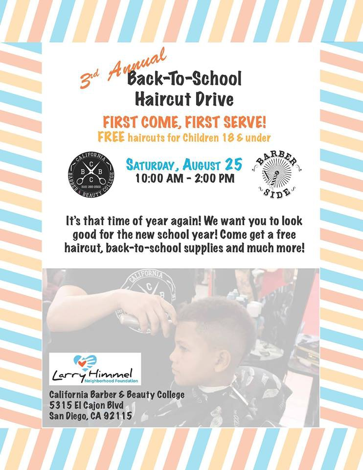 Back To School Haircut Drive 08252018 1000 Mission Federal
