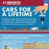Cars for a Lifetime infographic.