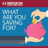 Mission Fed What Are You Saving For? infographic