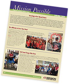 Mission Possible newsletter
